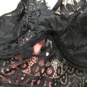 Fashion Nova Intimates & Sleepwear - Black lace bralette